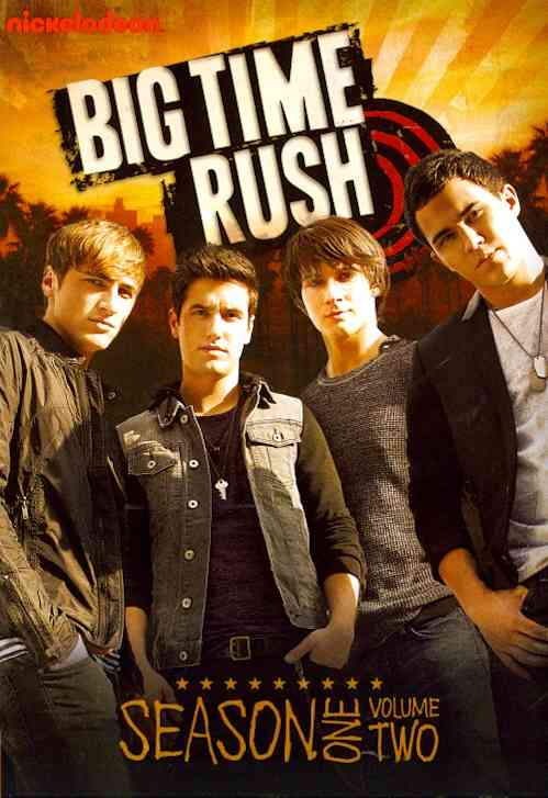 BIG TIME RUSH:SEASON ONE VOL 2 BY MASLOW,JAMES (DVD)