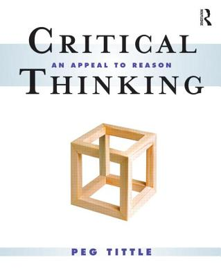Critical Thinking By Tittle, Peg